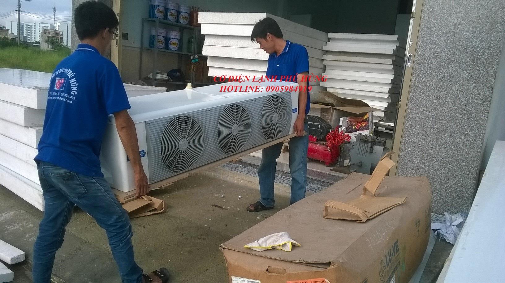 Dàn lạnh công nghiệp Đà Nẵng 2