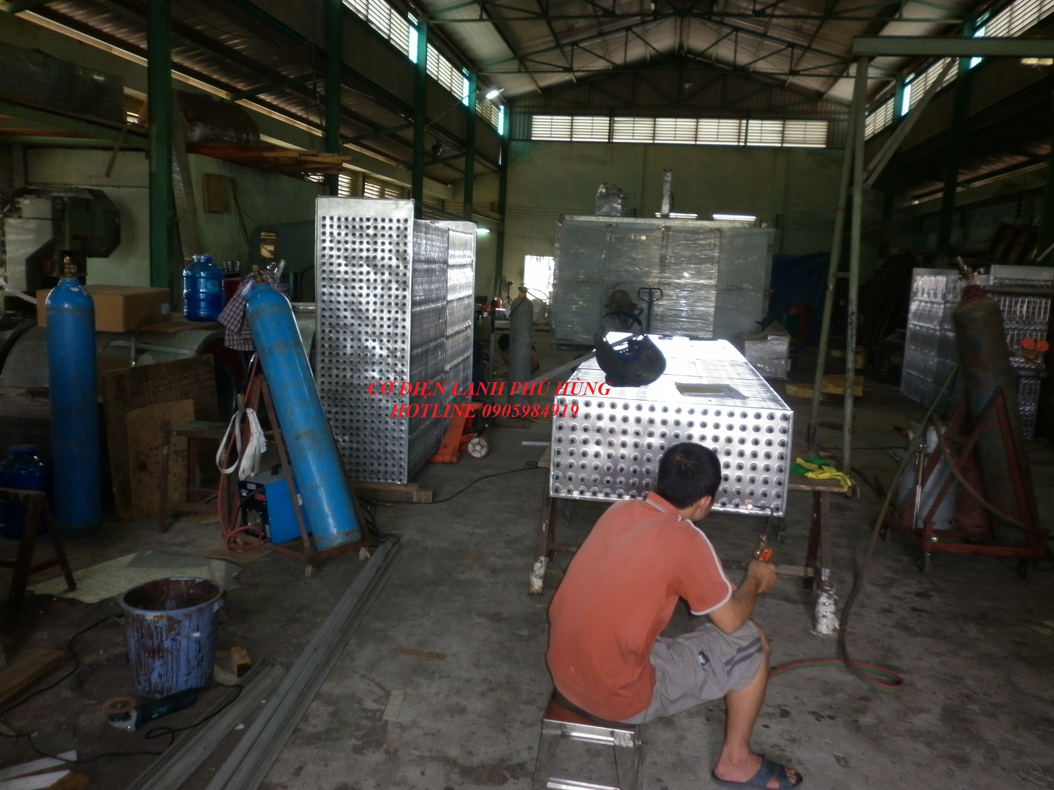 Dàn lạnh công nghiệp Đà Nẵng 5