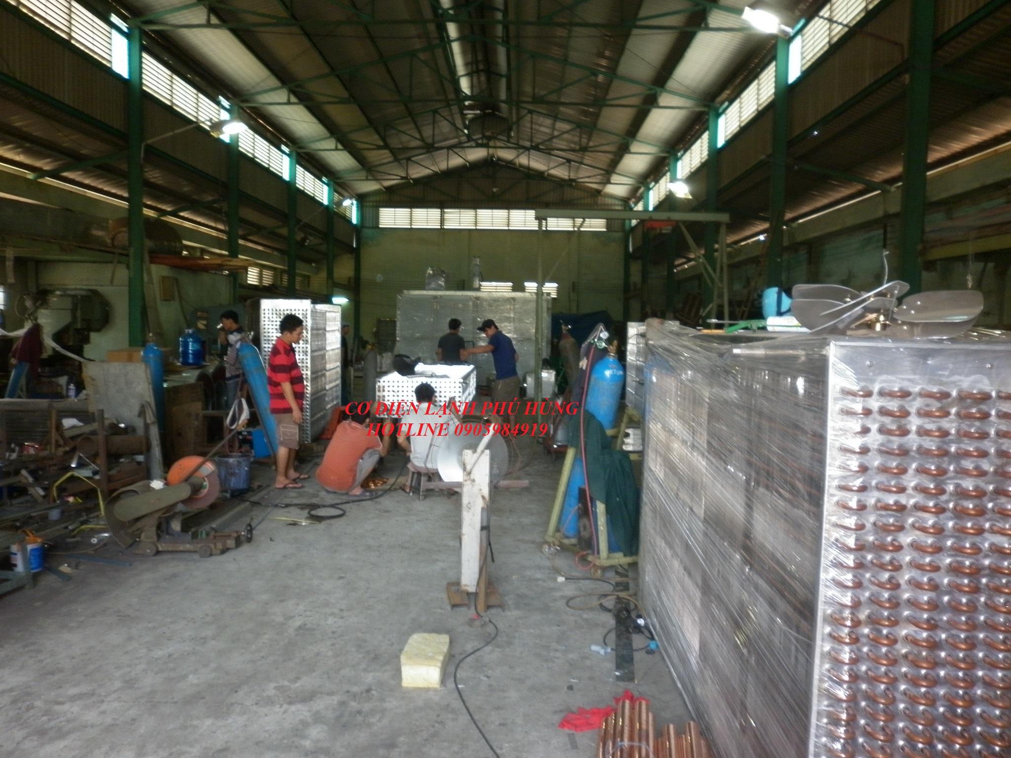 Dàn lạnh công nghiệp Đà Nẵng 8
