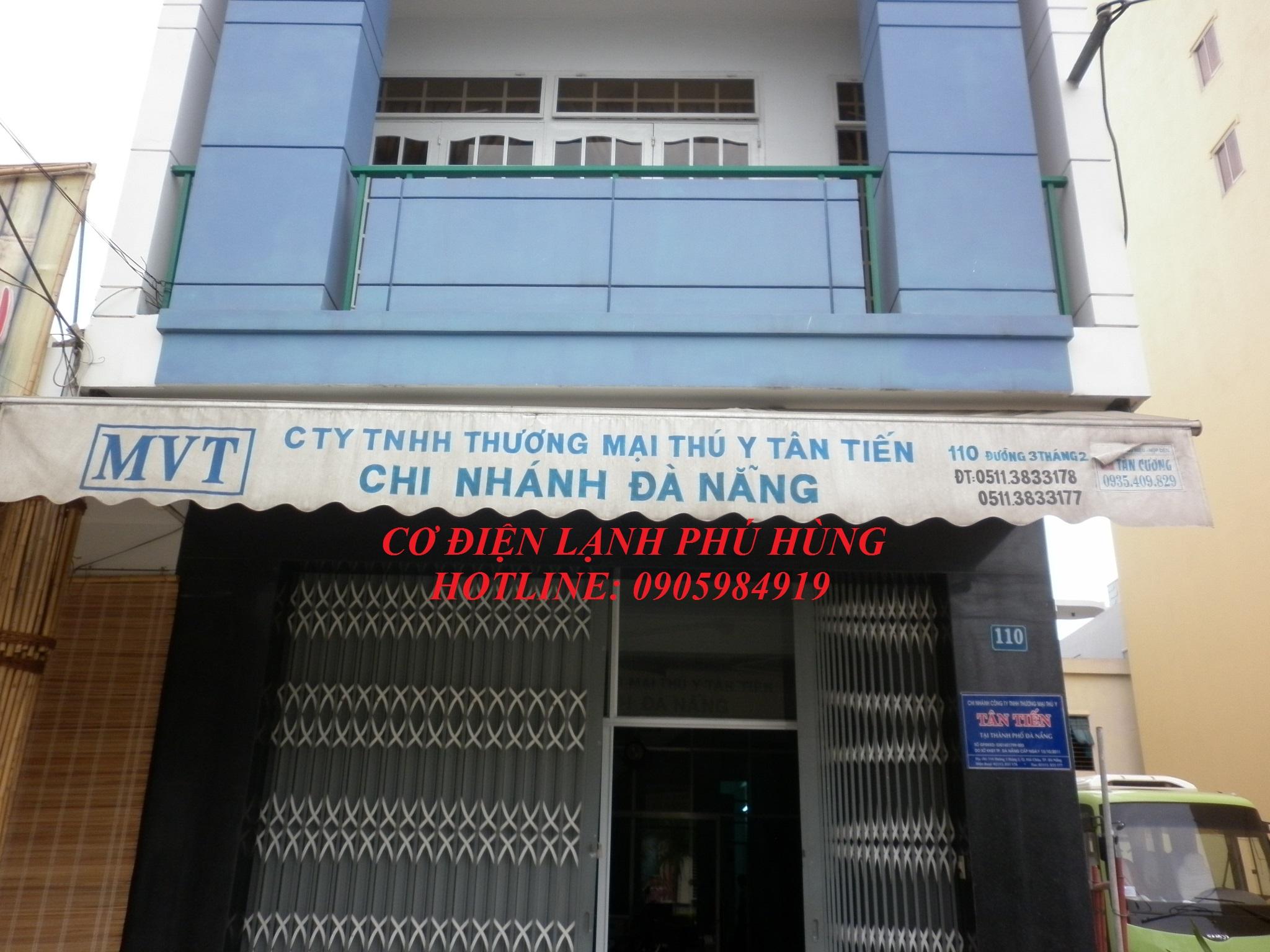A - Kho lạnh bảo quản vaccine - Cty TNHH TM Tân Tiến