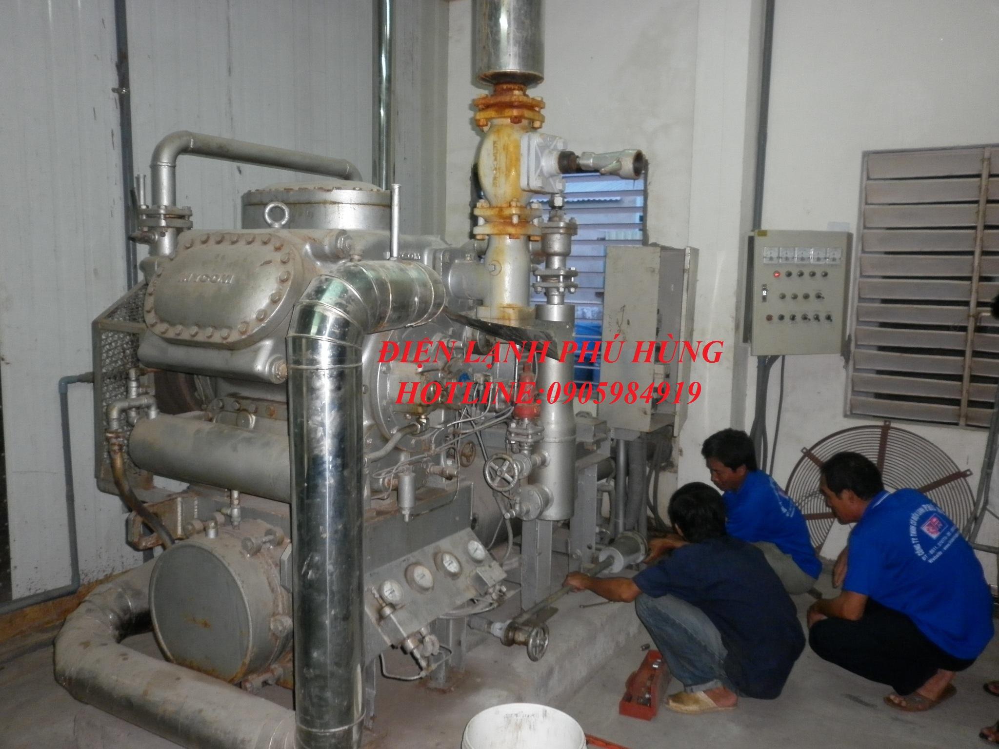 dl ptp1 - Cung cấp hệ thống lạnh cho nhà máy thủy sản Phước Tâm Phát
