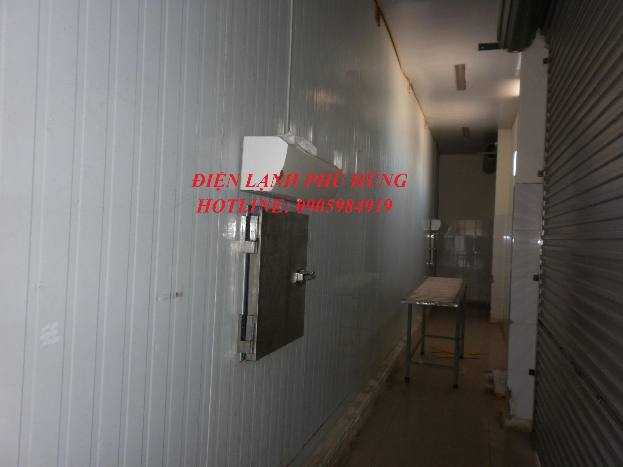 dl ptp3 - Cung cấp hệ thống lạnh cho nhà máy thủy sản Phước Tâm Phát