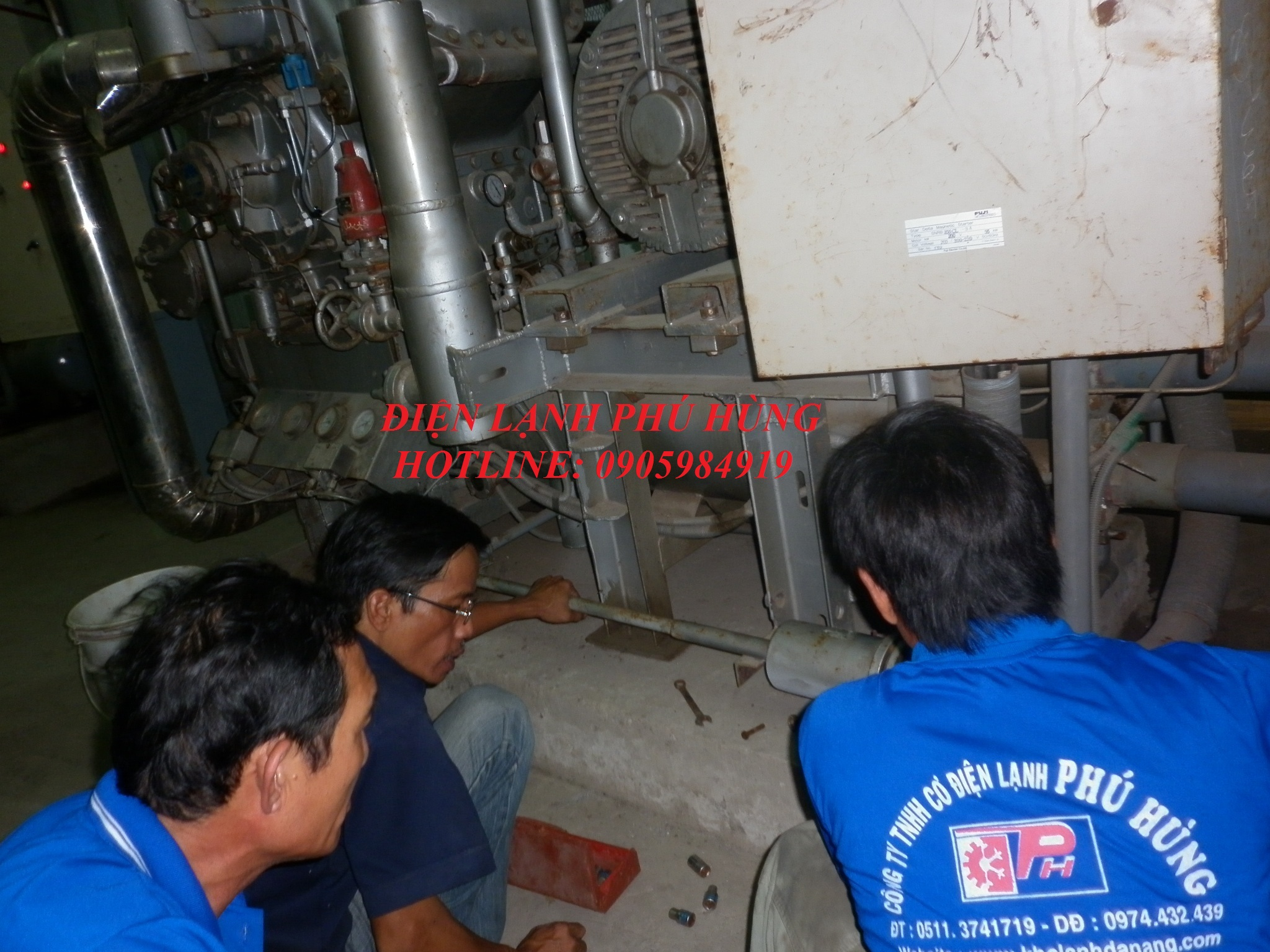 dl ptp4 - Cung cấp hệ thống lạnh cho nhà máy thủy sản Phước Tâm Phát