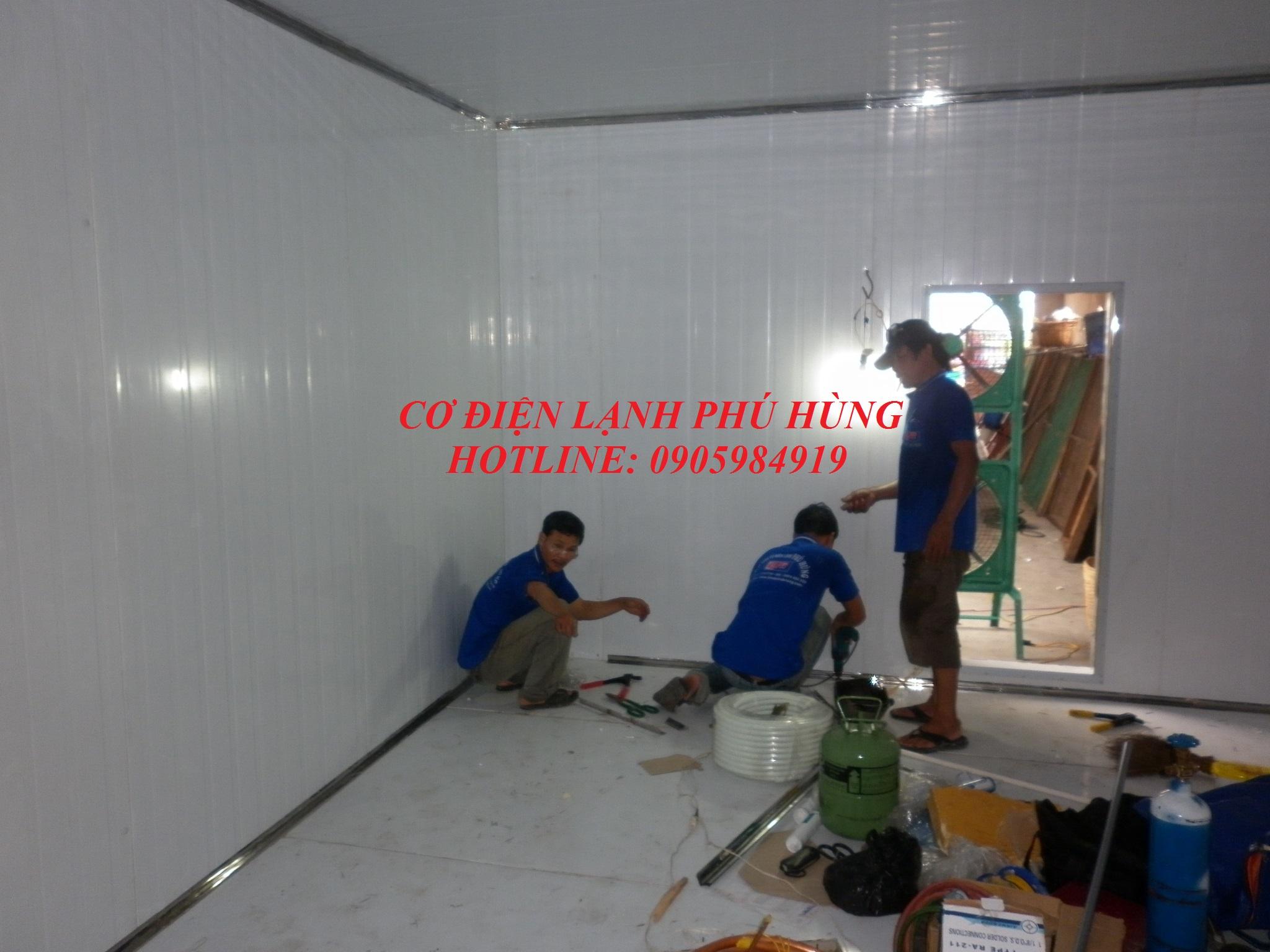 mkahP1040634 - Kho lạnh bảo quản mực khô - DNTN Tống Viết Hùng