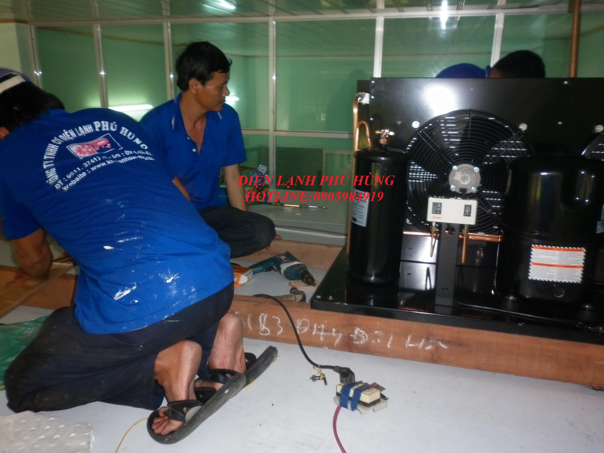 tt7 - Kho lanh bảo quản sữa vinamilk - Cty MTV Toàn Thành