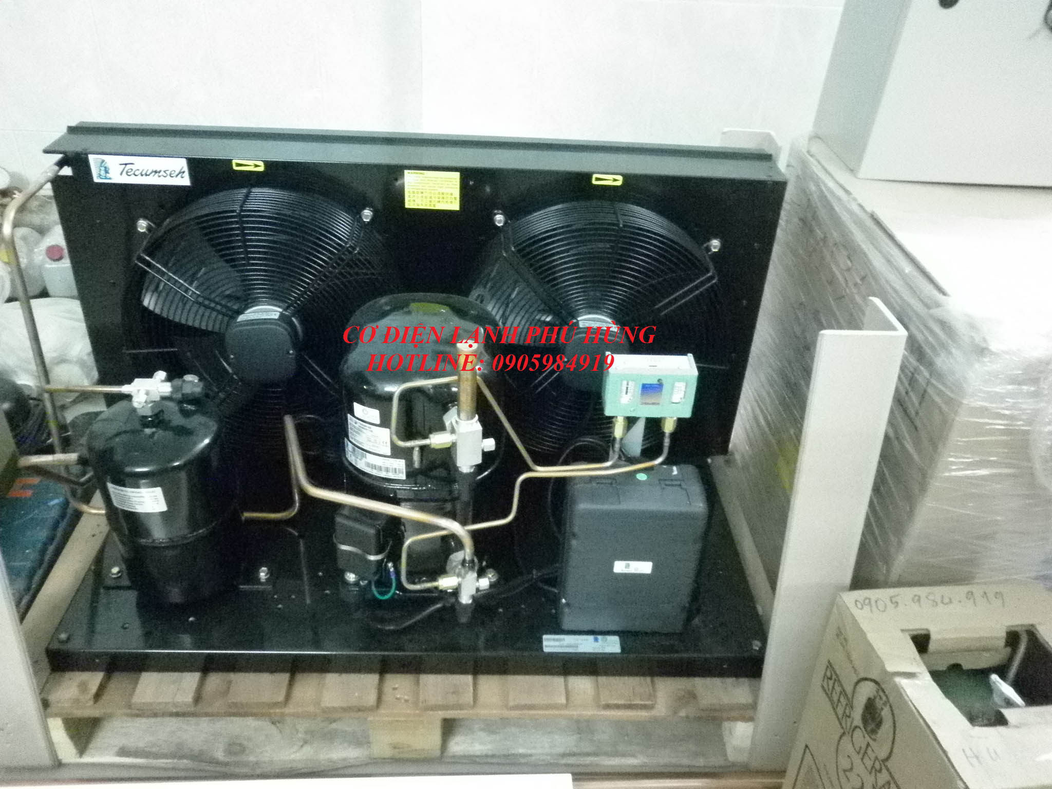 v Cụm máy nén dàn ngưng kho đông lạnh Đà Nẵng tP1070005
