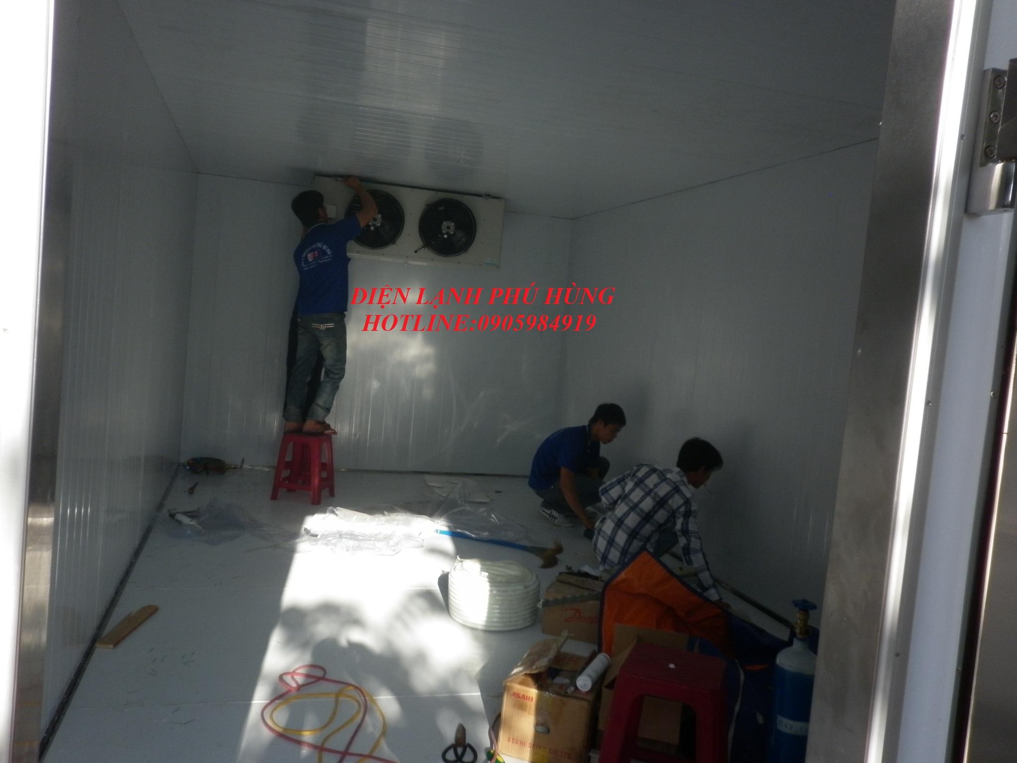 161 - Kho lanh bảo quản sữa vinamilk - Cty MTV Toàn Thành