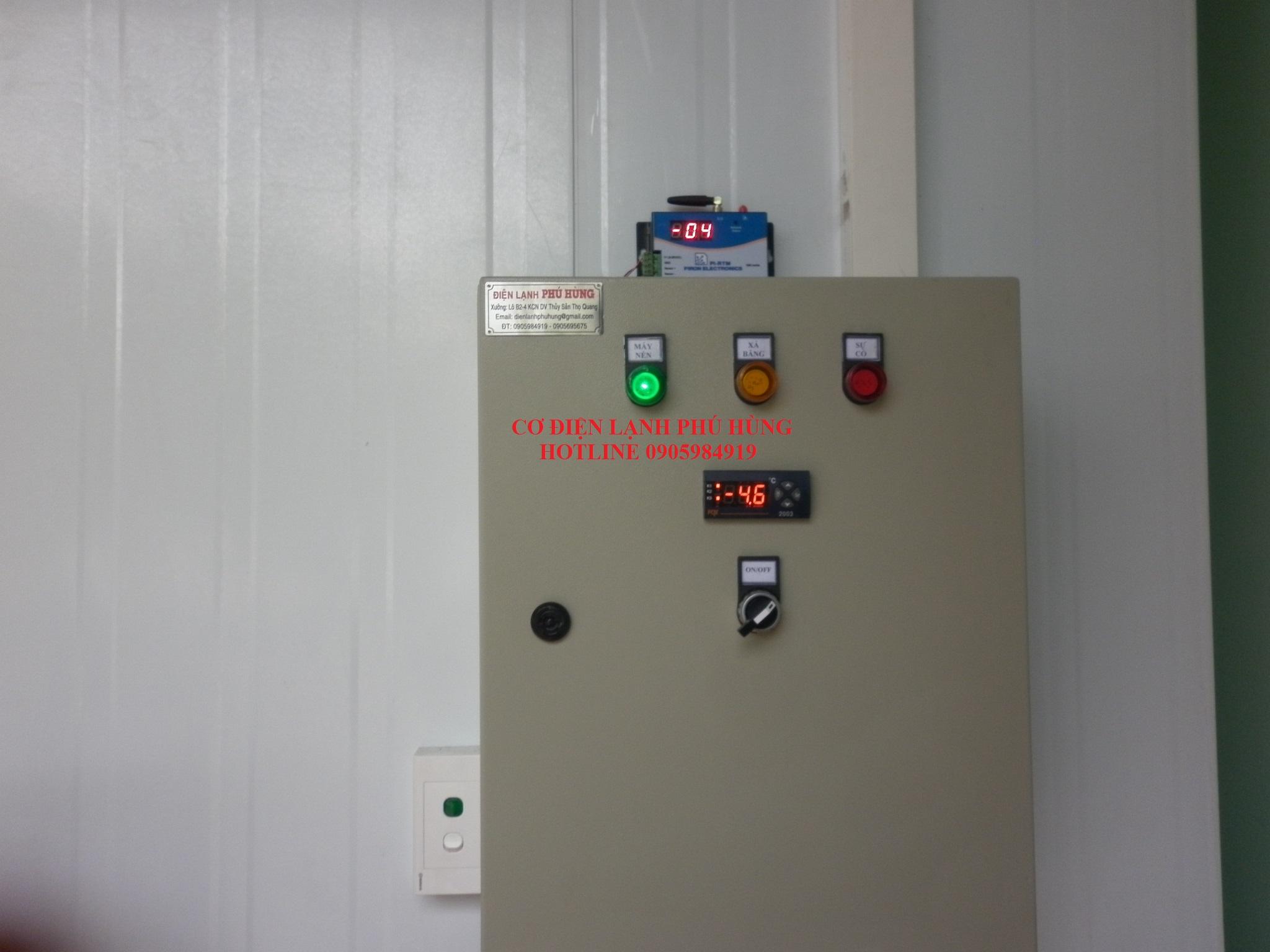 TTủ điện điều khiển kho lạnh Đà Nẵngh