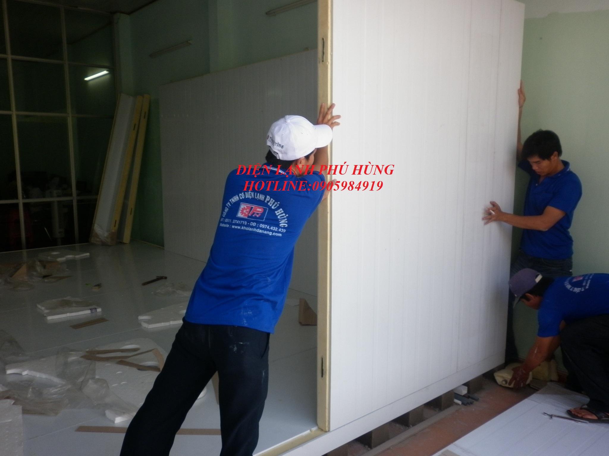 291 - Kho lanh bảo quản sữa vinamilk - Cty MTV Toàn Thành