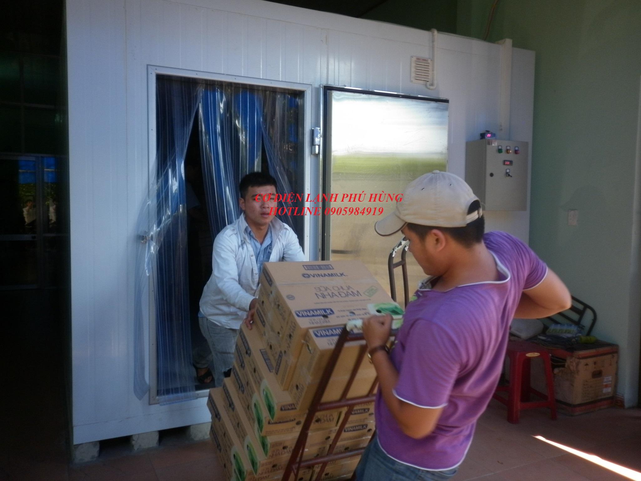 2A1 - Kho lanh bảo quản sữa vinamilk - Cty MTV Toàn Thành