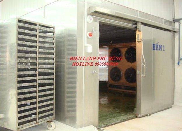 gfds - Cung cấp hệ thống lạnh cho nhà máy thủy sản Phước Tâm Phát