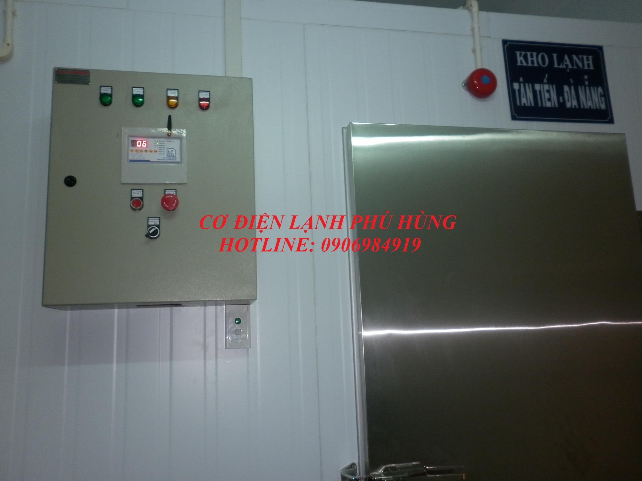 Tủ điện cho kho lạnh