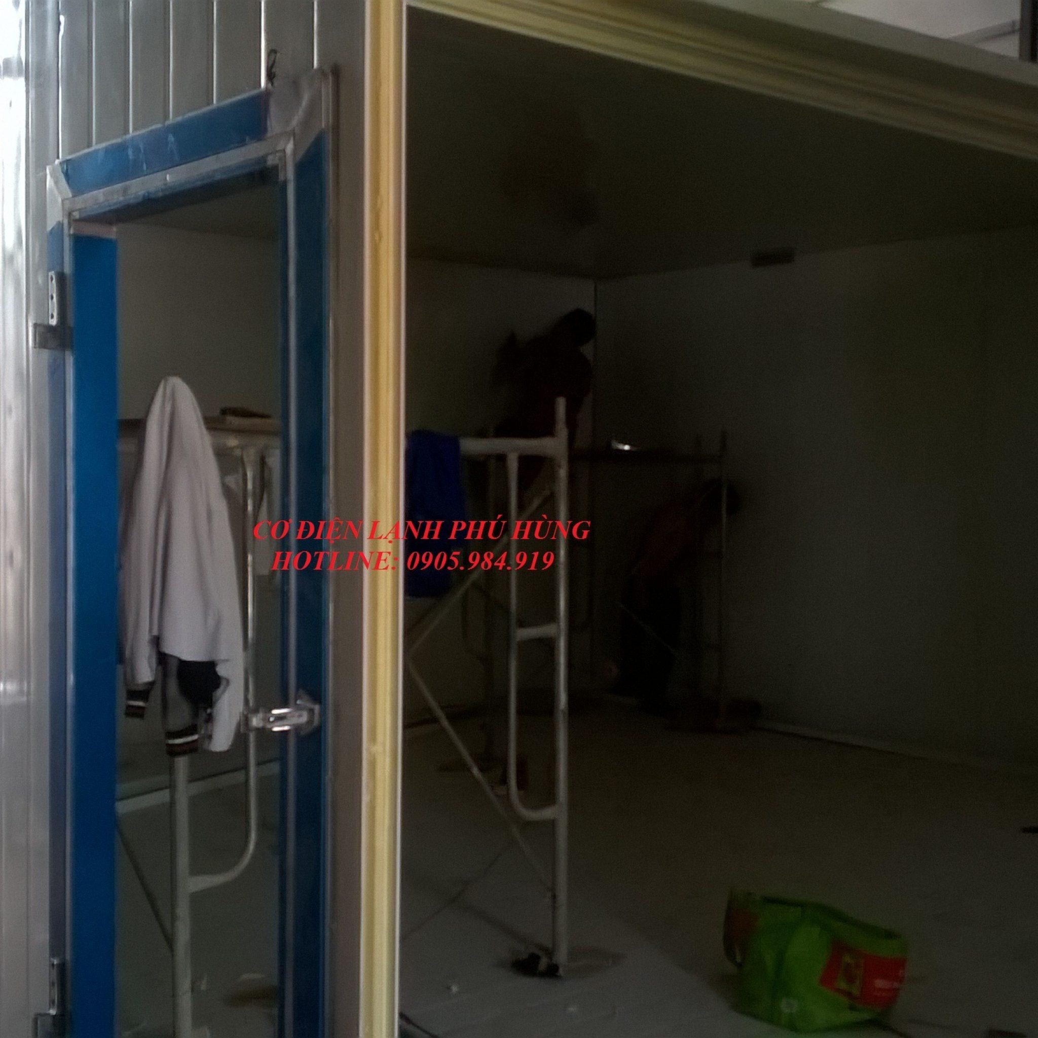 31 - Lắp đặt kho lạnh nem, chả tại Đà Nẵng