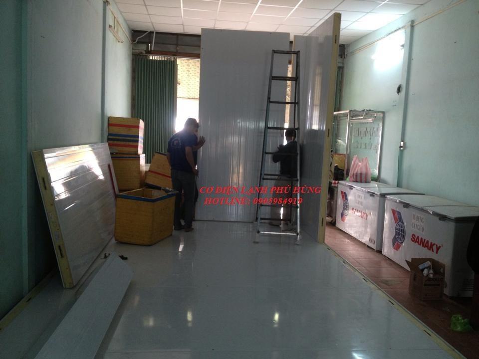 11 - Lắp đặt kho lạnh tại CTy TNHH Huân Thúy Đà Nẵng