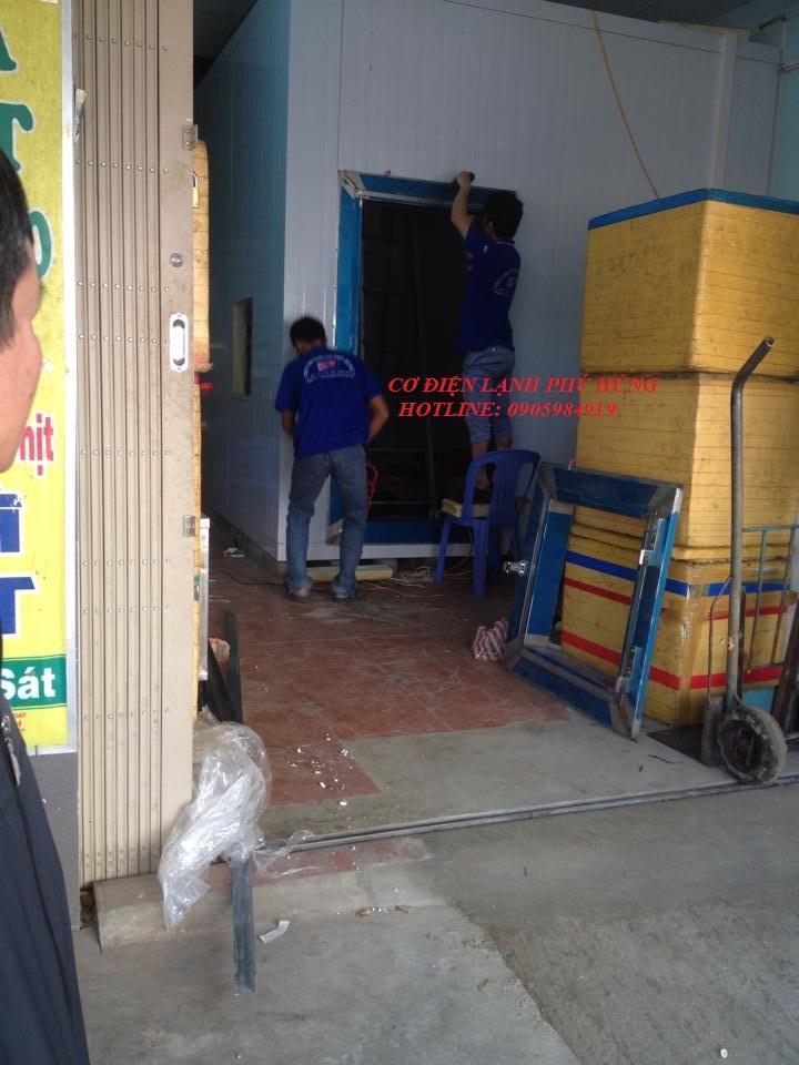 12 - Lắp đặt kho lạnh tại CTy TNHH Huân Thúy Đà Nẵng