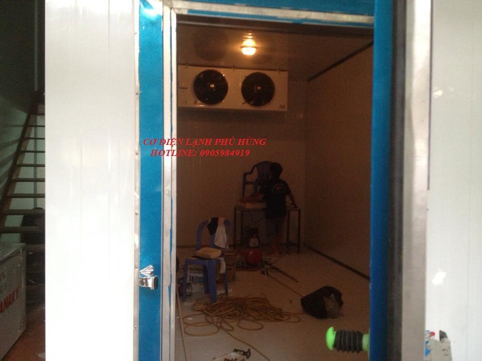 15 - Lắp đặt kho lạnh tại CTy TNHH Huân Thúy Đà Nẵng