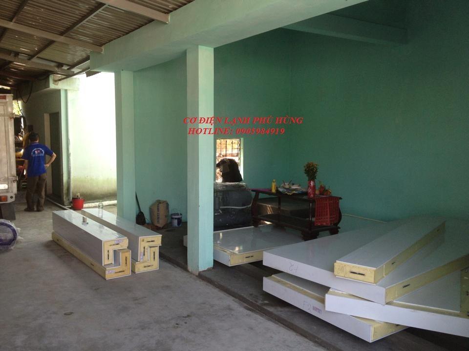 2 - Lắp kho lạnh trữ mực ống Hiền Anh- Quảng Nam