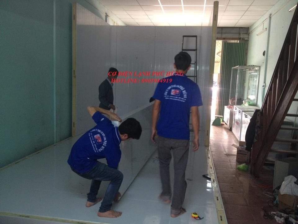 21 - Lắp đặt kho lạnh tại CTy TNHH Huân Thúy Đà Nẵng