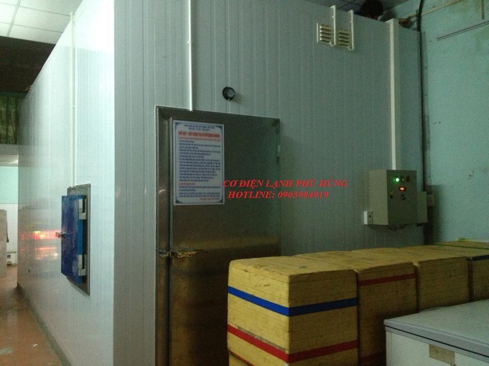 41 - Lắp đặt kho lạnh tại CTy TNHH Huân Thúy Đà Nẵng