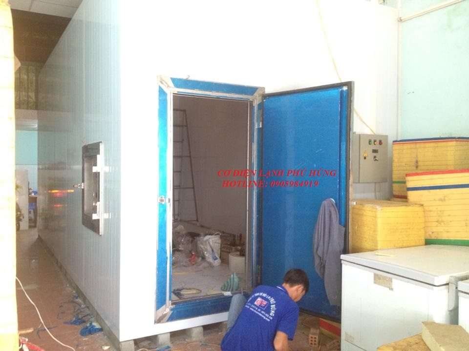 51 - Lắp đặt kho lạnh tại CTy TNHH Huân Thúy Đà Nẵng