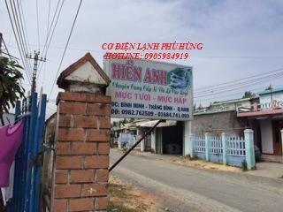 6 - Lắp kho lạnh trữ mực ống Hiền Anh- Quảng Nam