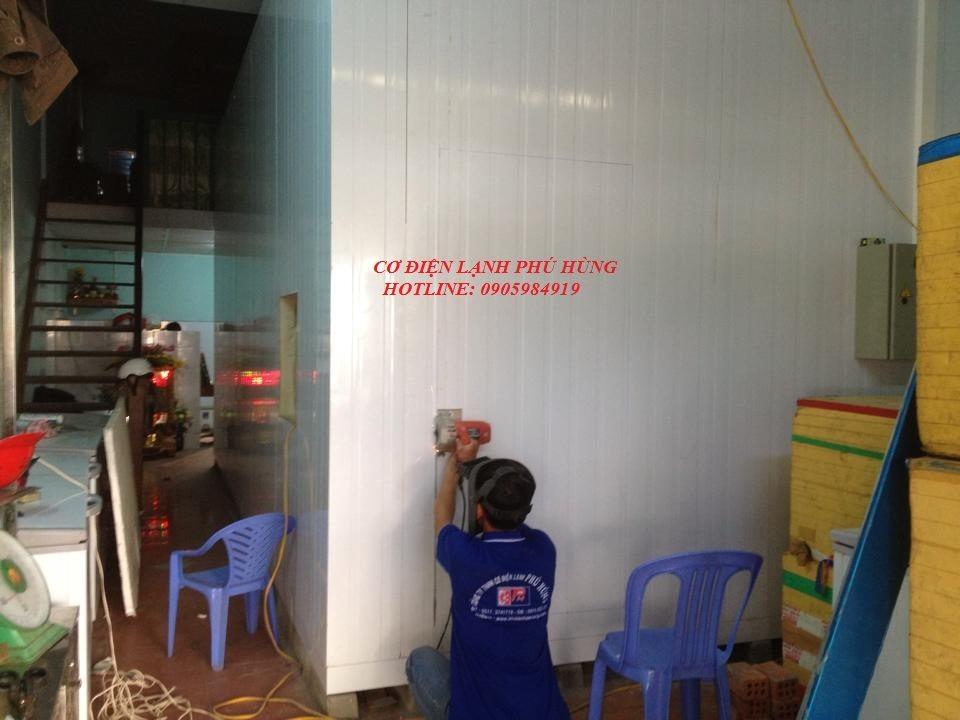 61 - Lắp đặt kho lạnh tại CTy TNHH Huân Thúy Đà Nẵng