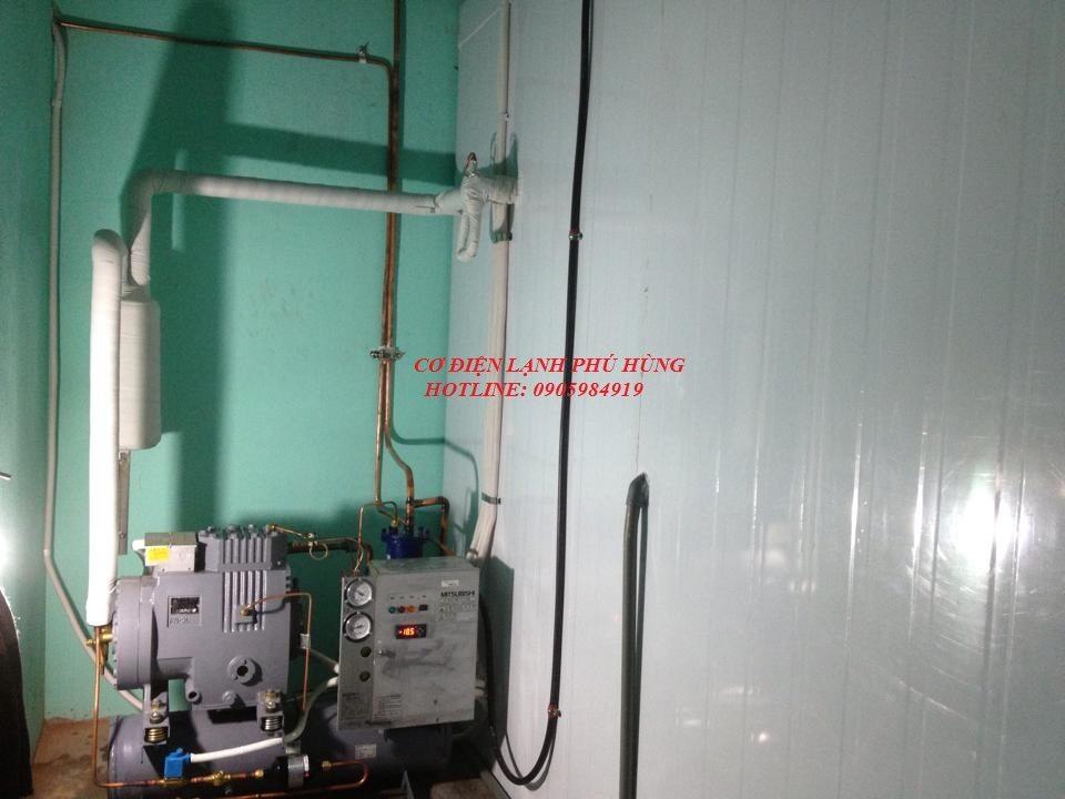 7 - Lắp kho lạnh trữ mực ống Hiền Anh- Quảng Nam