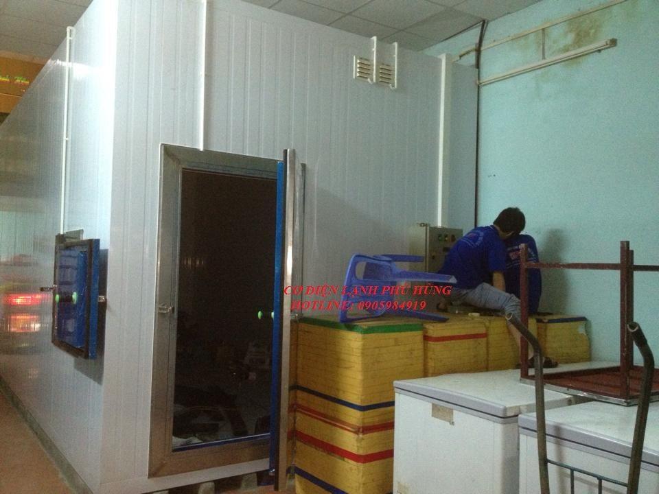 71 - Lắp đặt kho lạnh tại CTy TNHH Huân Thúy Đà Nẵng