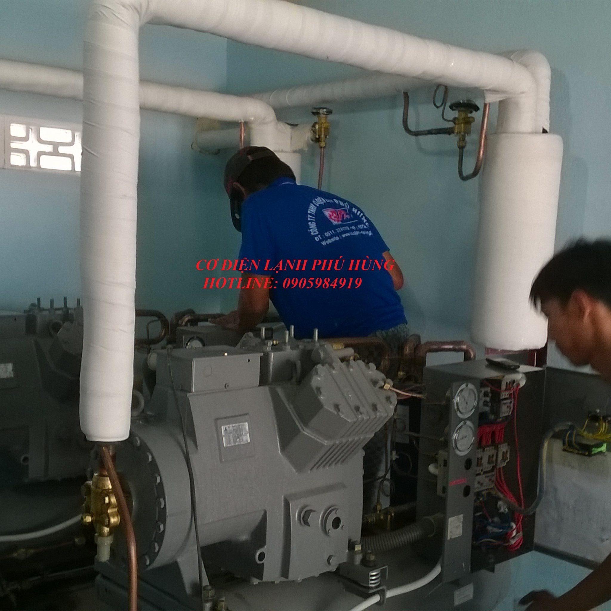 Cụm máy nén lạnh MITSUBISHImmm