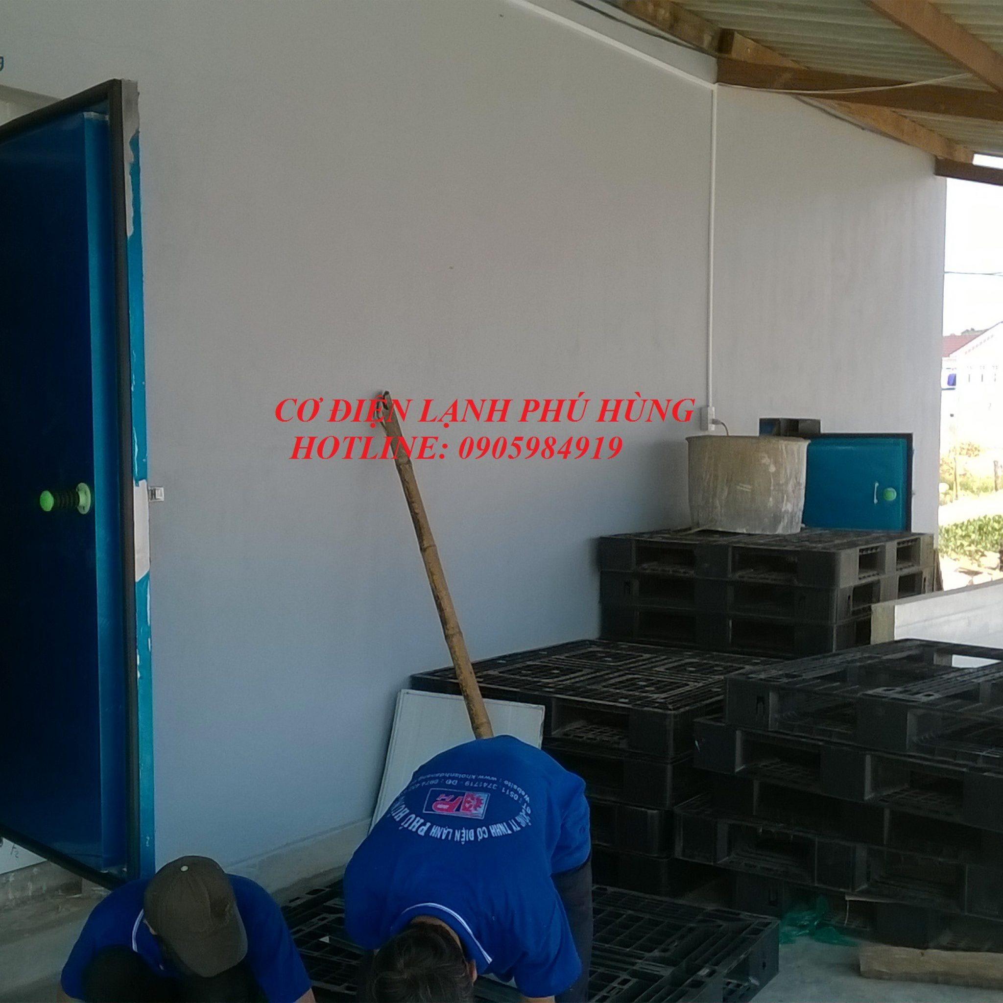 5 - Lắp đặt kho lạnh tại cảng cá Sa Huỳnh Quảng Ngãi