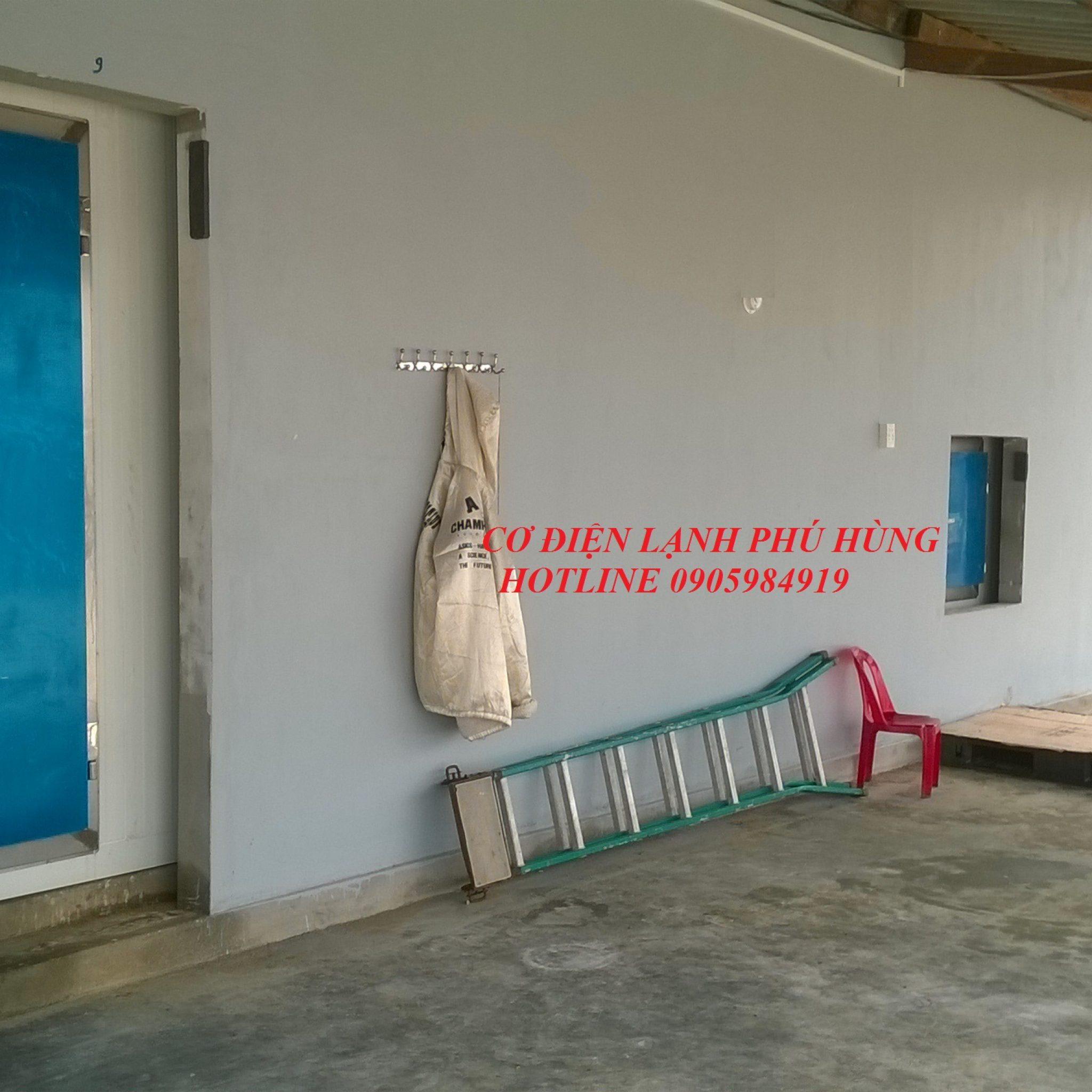 9 - Lắp đặt kho lạnh tại cảng cá Sa Huỳnh Quảng Ngãi