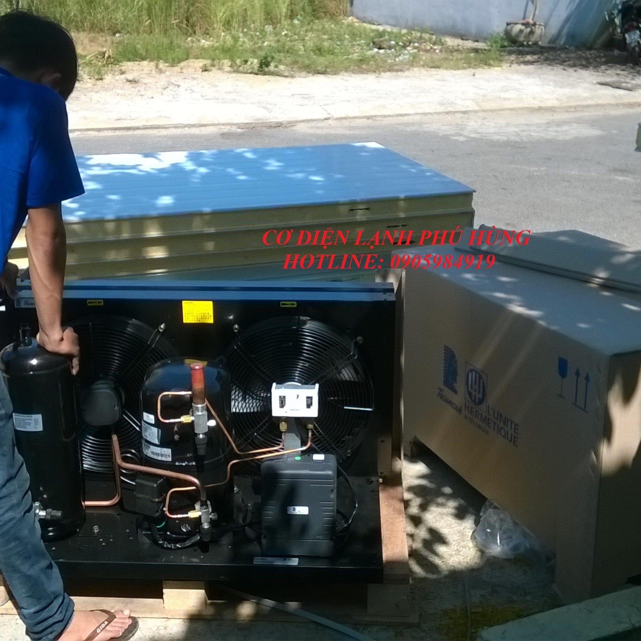 1 - Lắp kho lạnh sữa Vinamilk Cty DUY THANH - Quảng Nam