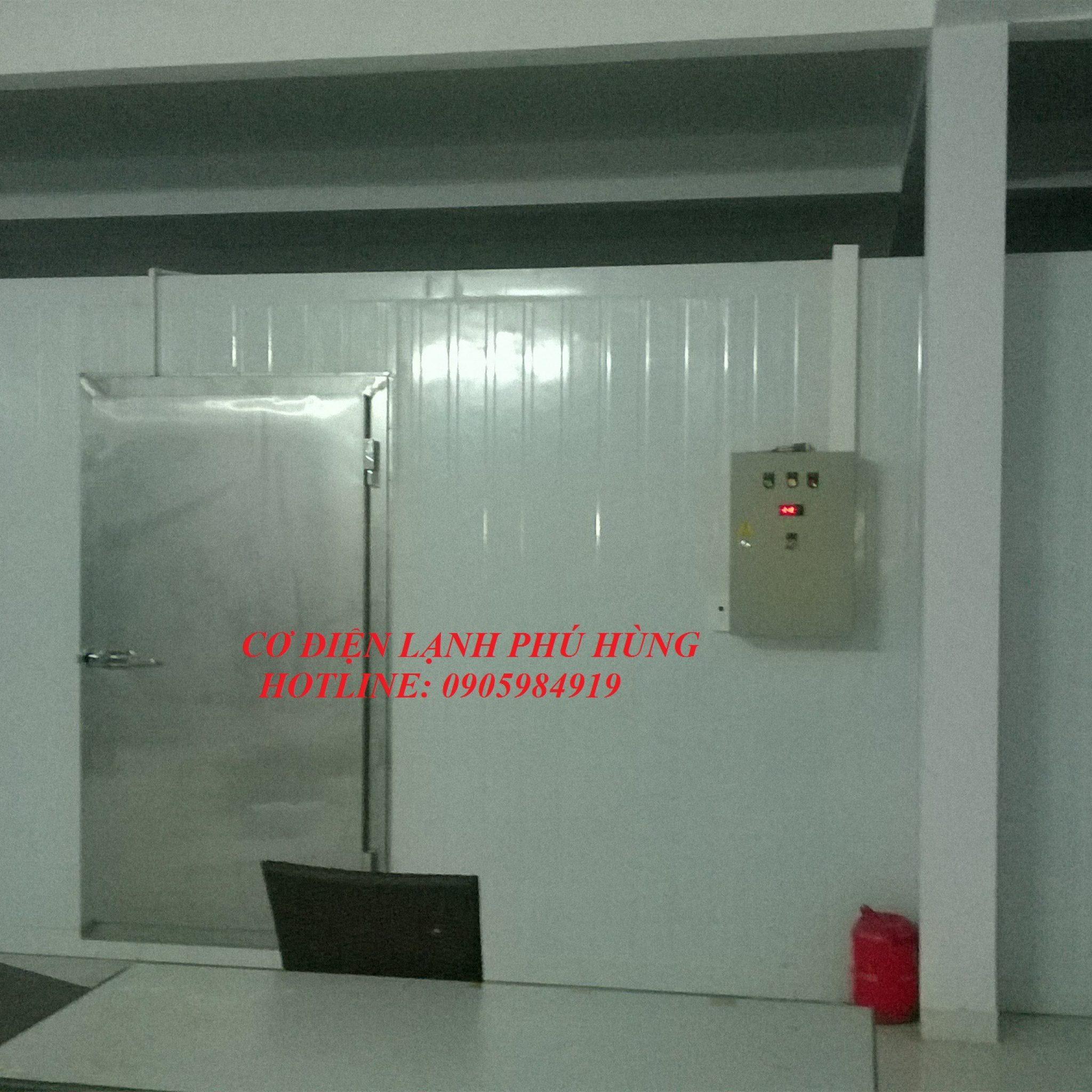 10 - lắp đặt kho lạnh tại siêu thị Kmart Đà Nẵng  cơ sở 2