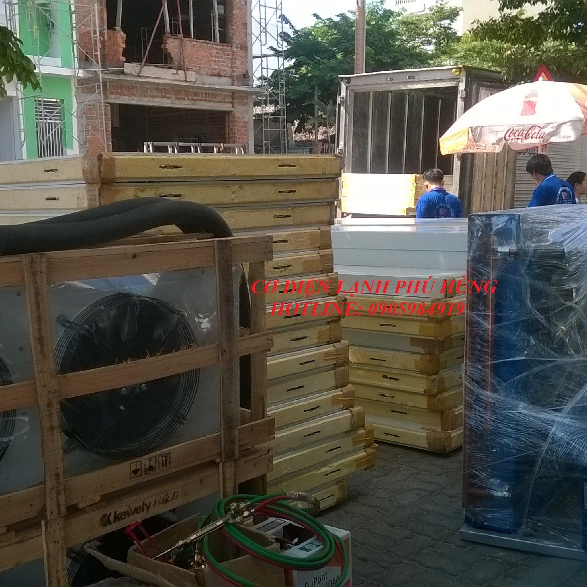 11 - lắp đặt kho lạnh tại siêu thị Kmart Đà Nẵng  cơ sở 2