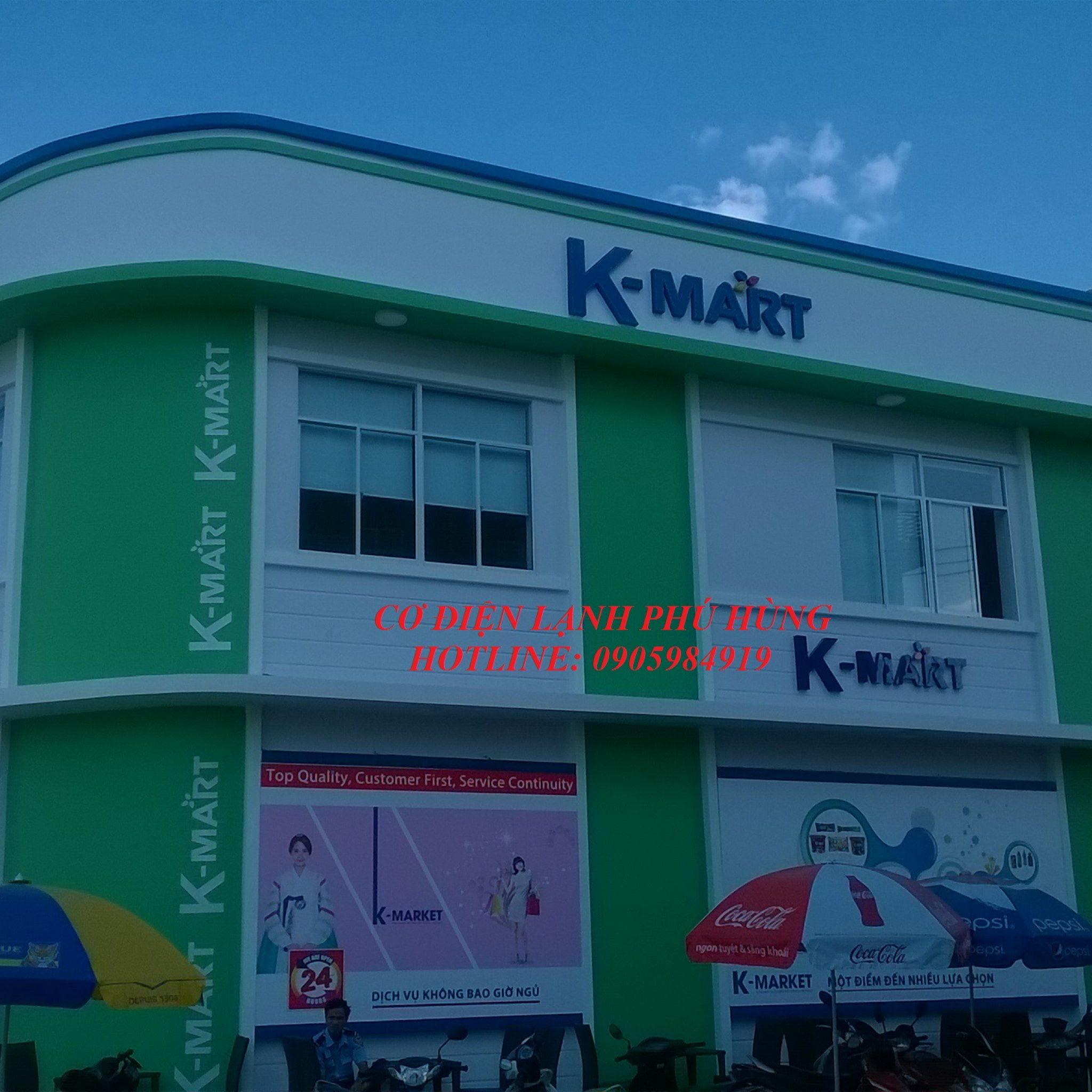 1A - lắp đặt kho lạnh tại siêu thị Kmart Đà Nẵng  cơ sở 2