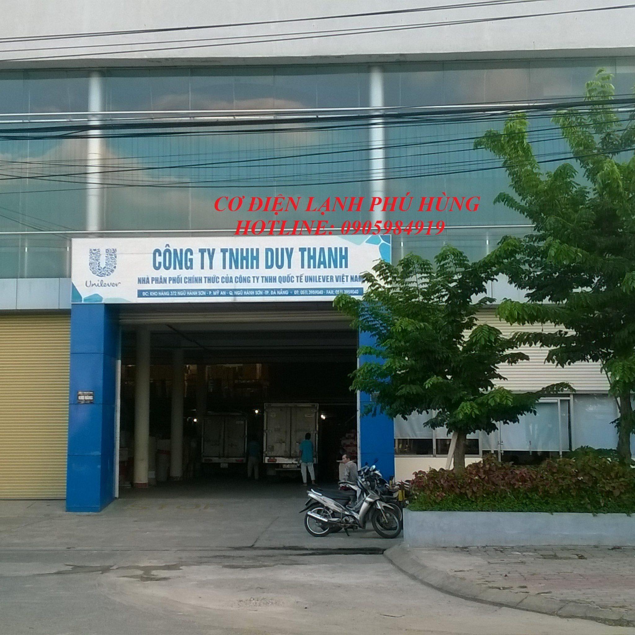 8 - Lắp kho lạnh sữa Vinamilk Cty DUY THANH - Quảng Nam