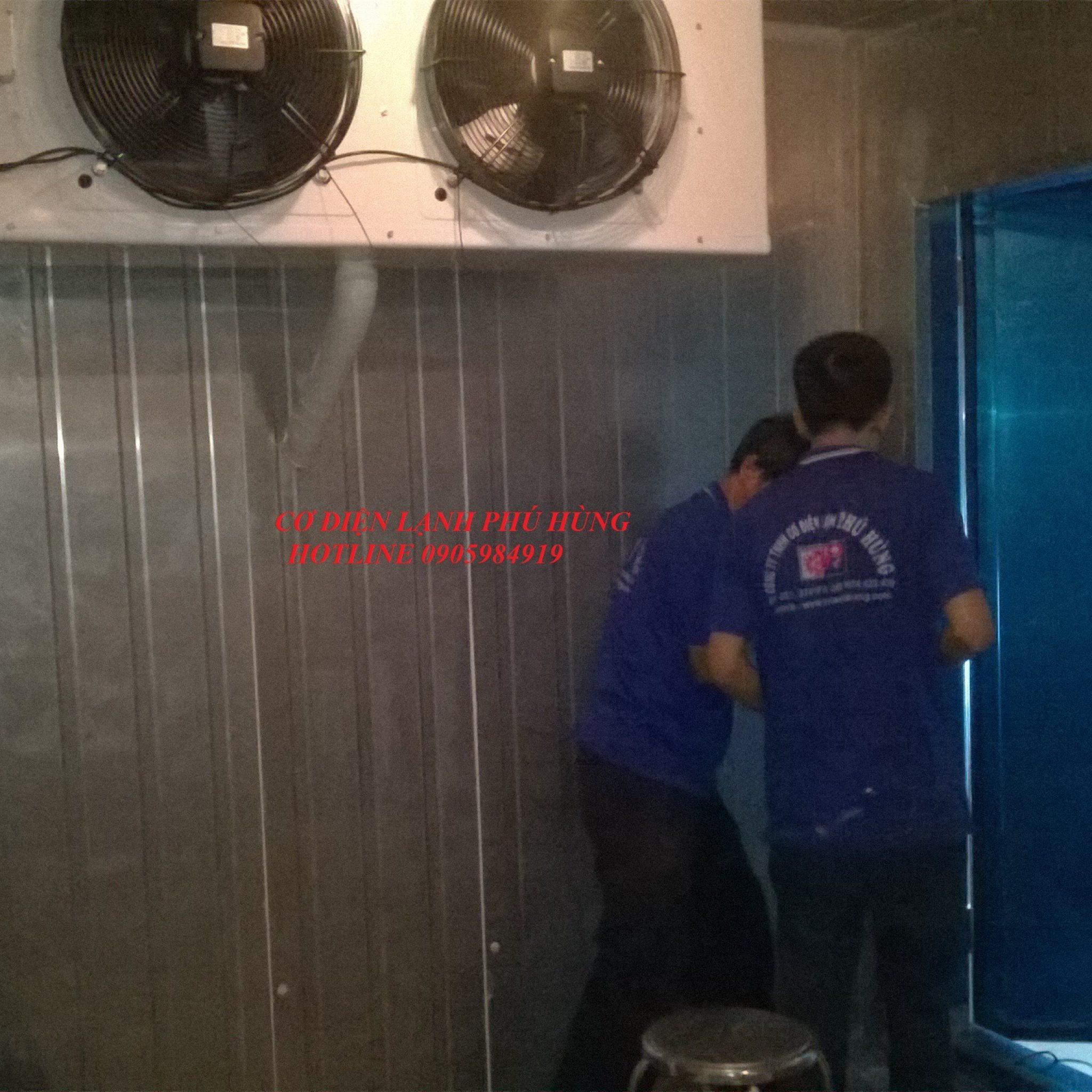 4 - Thiết kế lắp đặt, sửa chữa kho lạnh tại ĐÀ NẴNG-Cty KIM THỦY PHÁT
