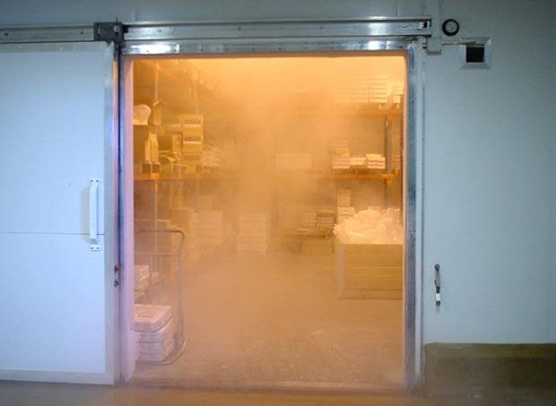 entrance cold store - Sửa chữa kho lạnh tại Đà Nẵng