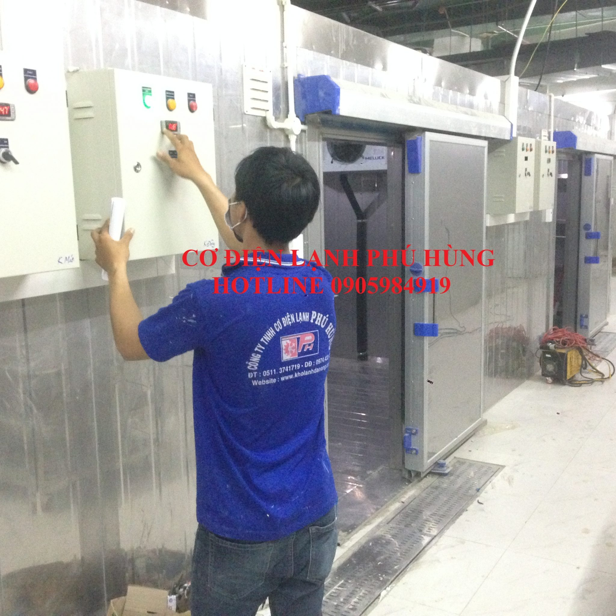3 - Thiết kế lắp đặt, sửa chữa kho lạnh tại ĐÀ NẴNG-Cty KIM THỦY PHÁT
