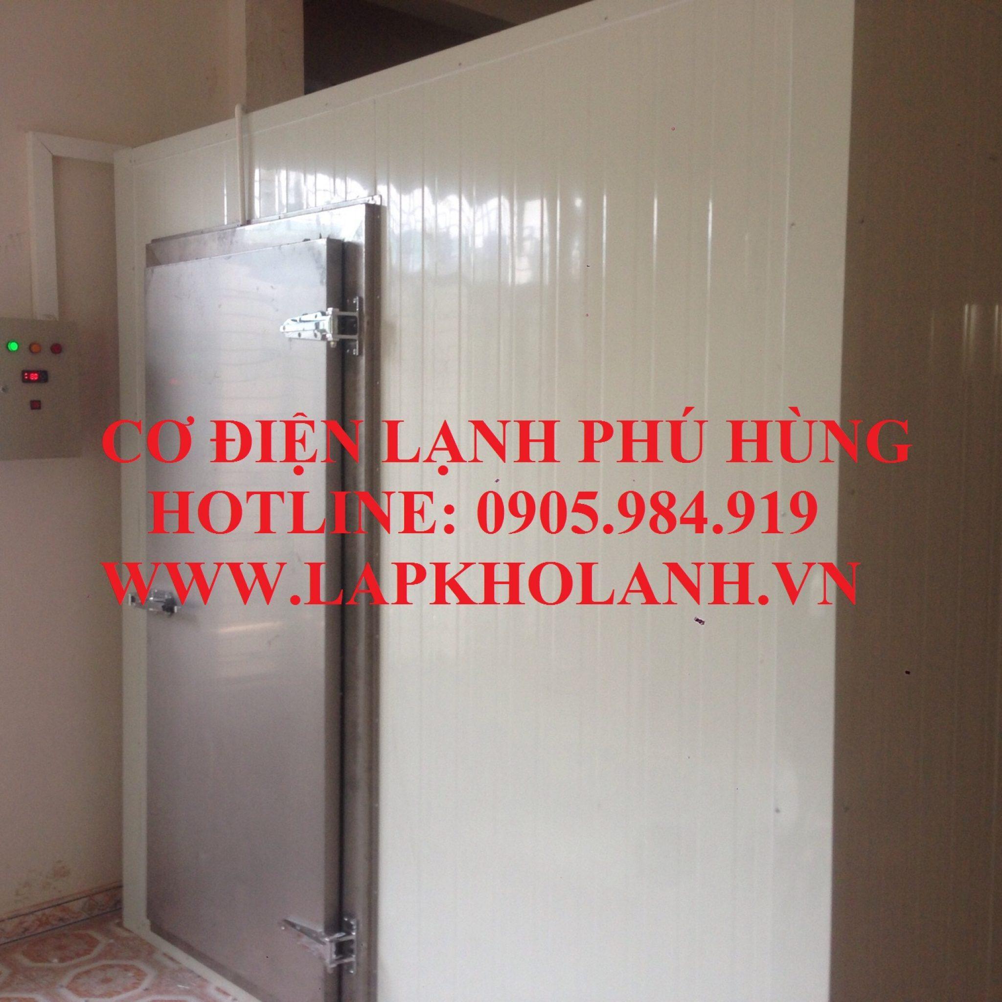 Thi công kho lạnh bảo quản Rau sạch tại Đà Nẵng