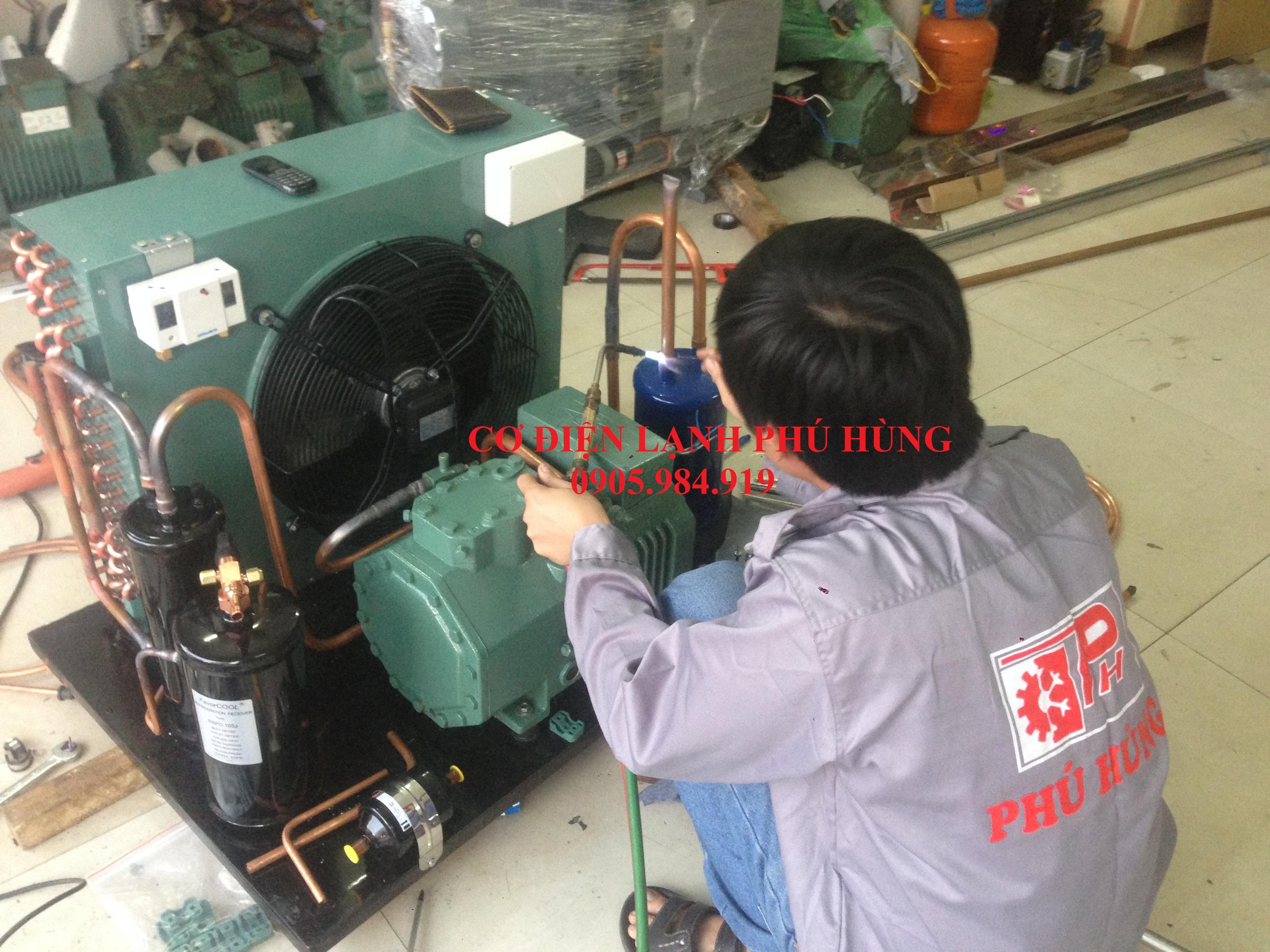 LT 04 - Chuyên Lắp kho lạnh LOTTERIA cách tỉnh miền Trung
