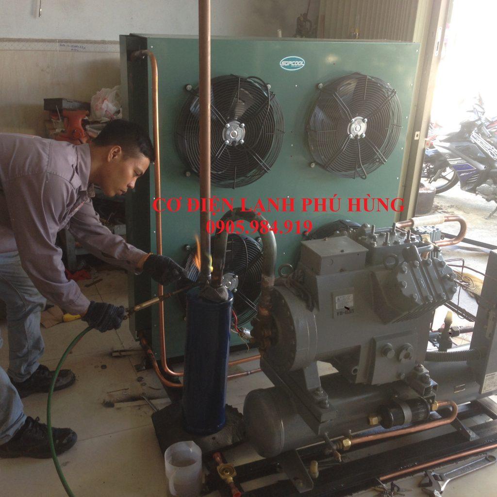 NMT 12 1024x1024 - Lắp Kho lạnh bảo quản Cá Đông lạnh tại cảng cá Thọ Quang