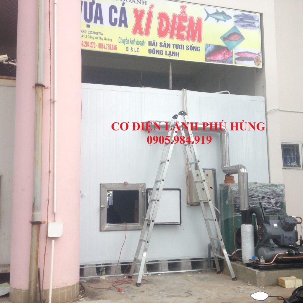 XD 01 1024x1024 - Lắp Kho lạnh bảo quản Cá Đông lạnh tại cảng cá Thọ Quang