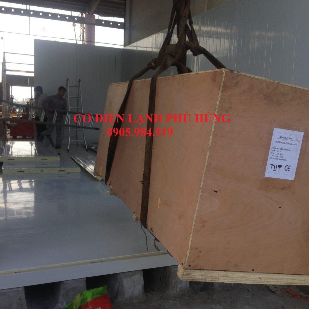 XD 10 1024x1024 - Lắp Kho lạnh bảo quản Cá Đông lạnh tại cảng cá Thọ Quang