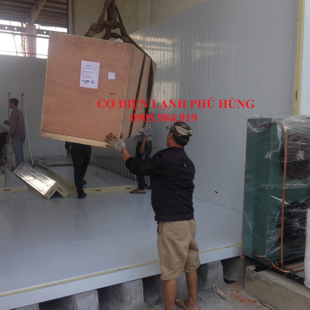 XD 11 1024x1024 - Lắp Kho lạnh bảo quản Cá Đông lạnh tại cảng cá Thọ Quang