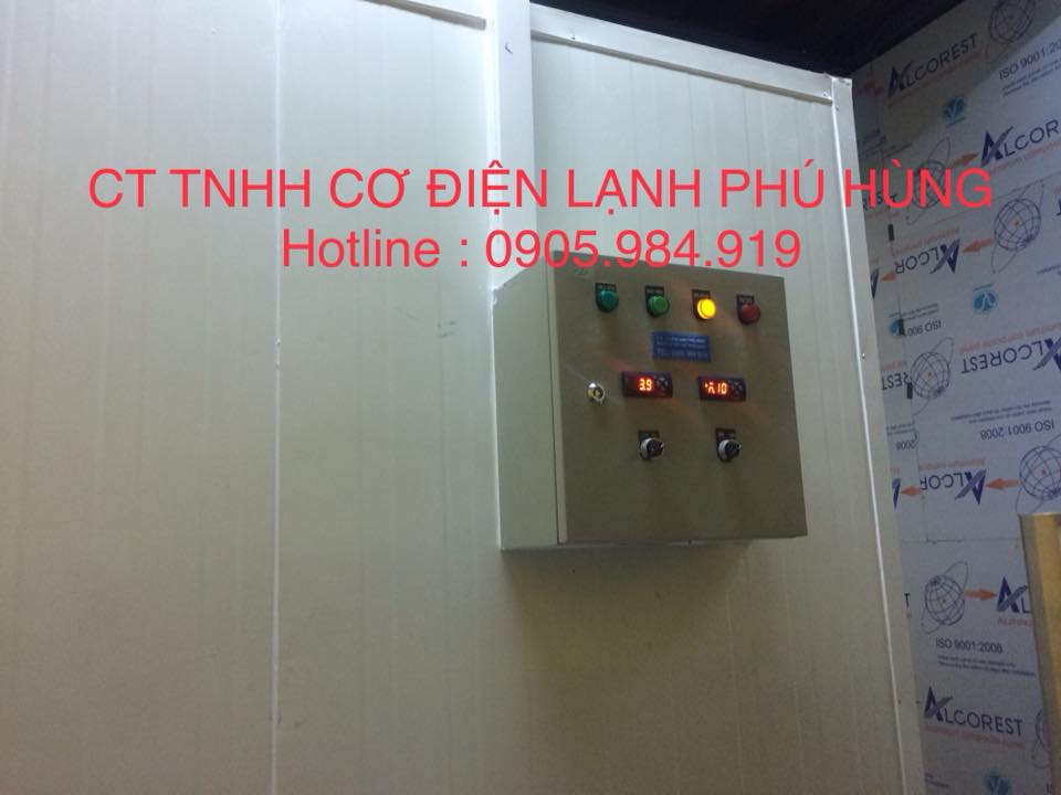 Lắp kho lạnh nhà hàng LAMASON DELI