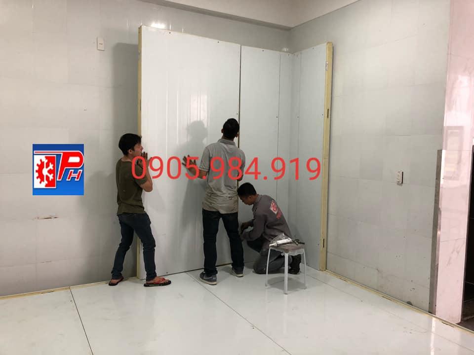 kho lanh bao quan kem th milk 2 - Cung cấp lắp đặt kho lạnh bảo quản Kem - TH milk tại Đà Nẵng
