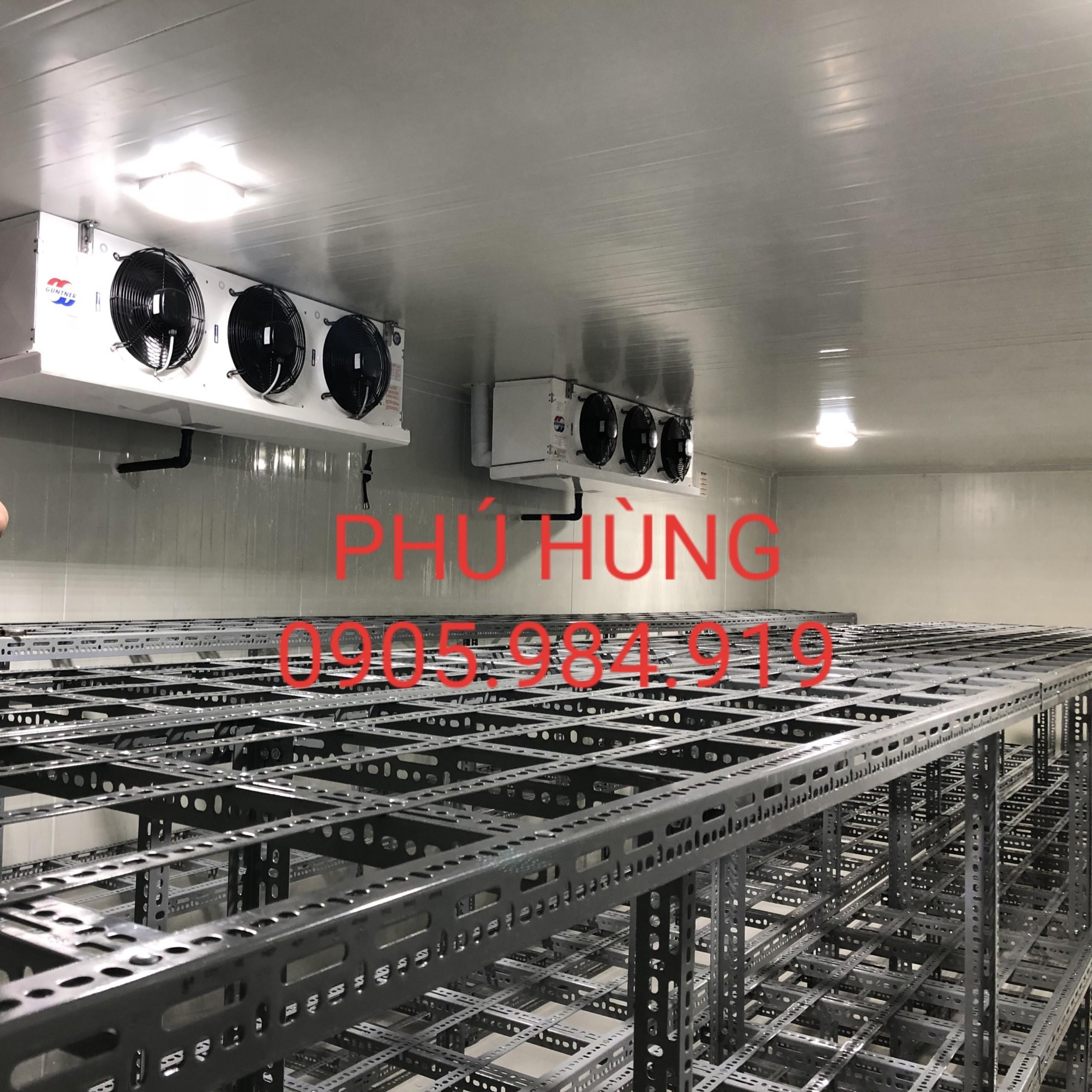 Lắp đặt kho lạnh bảo quản kem, công ty Thành Nhân, Đà Nẵng