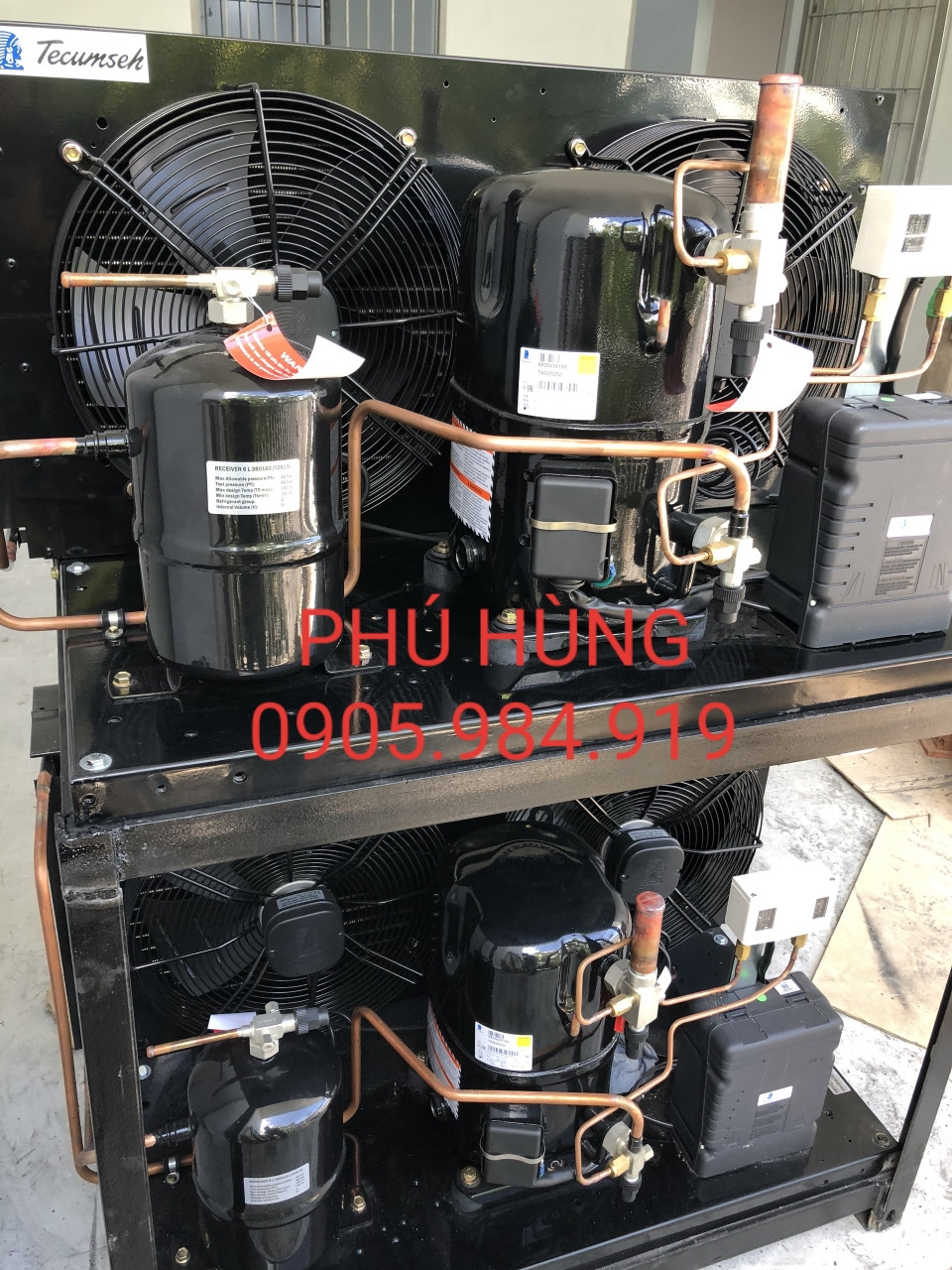 kho kem thanh nhan 2 - Lắp đặt kho lạnh bảo quản kem, công ty Thành Nhân, Đà Nẵng