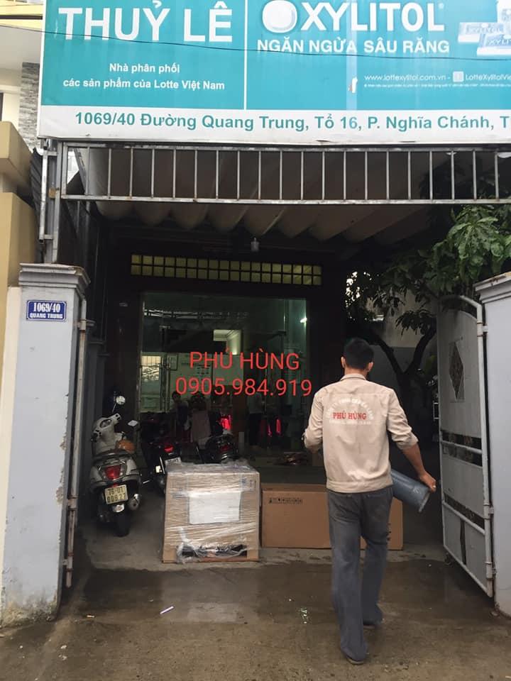 kho lanh bao quan kem lotte 2 - Lắp Đặt Kho Lạnh Bảo Quản Kem Lotte - Quảng Ngãi